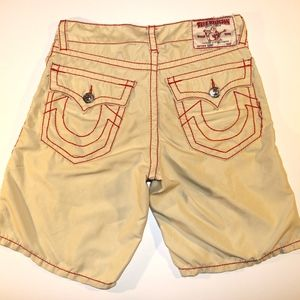 True Religion Big T Board Shorts